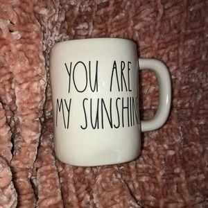 Rae Dunn Mug.  YOU ARE MU SUNSHINE